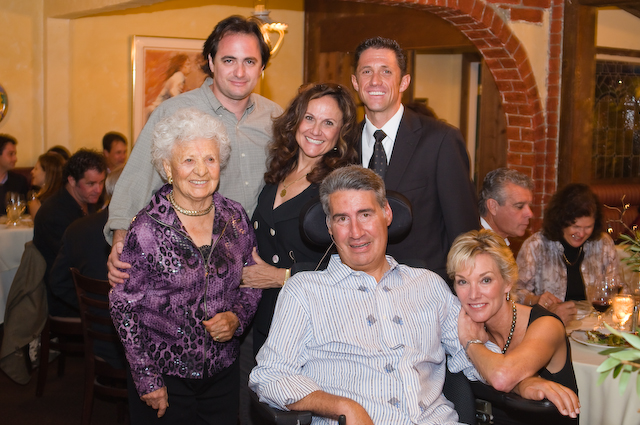 Monthly charitable restaurant events. This night brought in 60.000 for Lou Gehrig disease